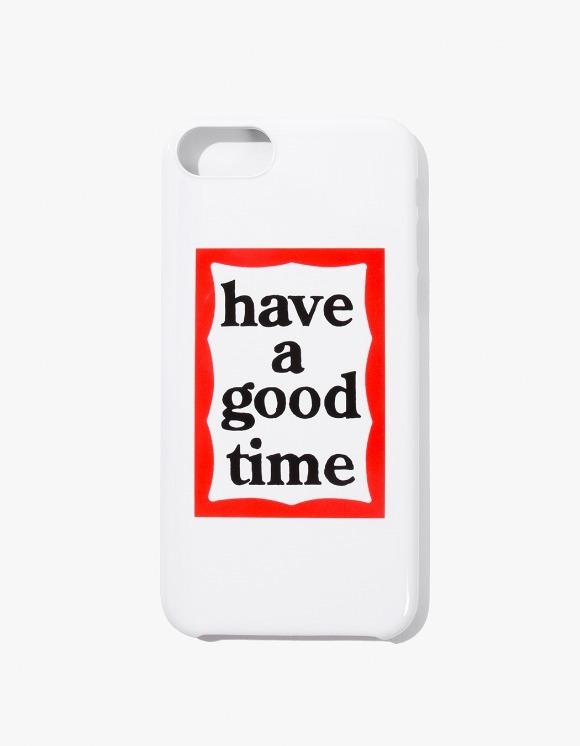 have a good time Frame iPhone Case 6/7/8 - White | HEIGHTS. | 하이츠 온라인 스토어