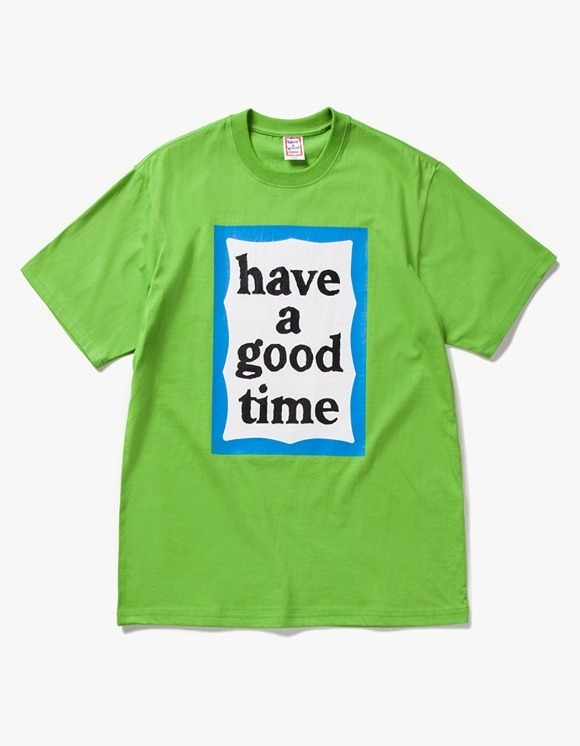 have a good time Big Blue Frame S/S Tee - Leaf Green | HEIGHTS. | 하이츠 온라인 스토어
