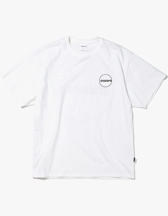 thisisneverthat C-Logo Tee - White | HEIGHTS. | 하이츠 온라인 스토어