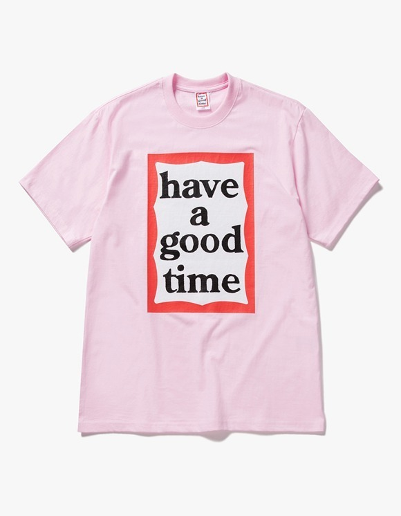 have a good time Big Frame S/S Tee - Pink | HEIGHTS. | 하이츠 온라인 스토어