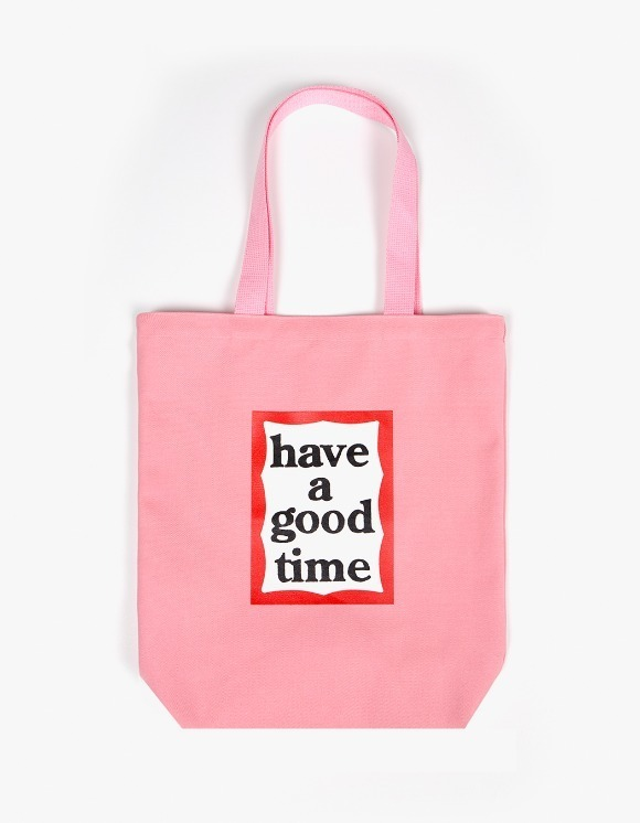 have a good time Frame Tote Bag - Pink | HEIGHTS. | 하이츠 온라인 스토어
