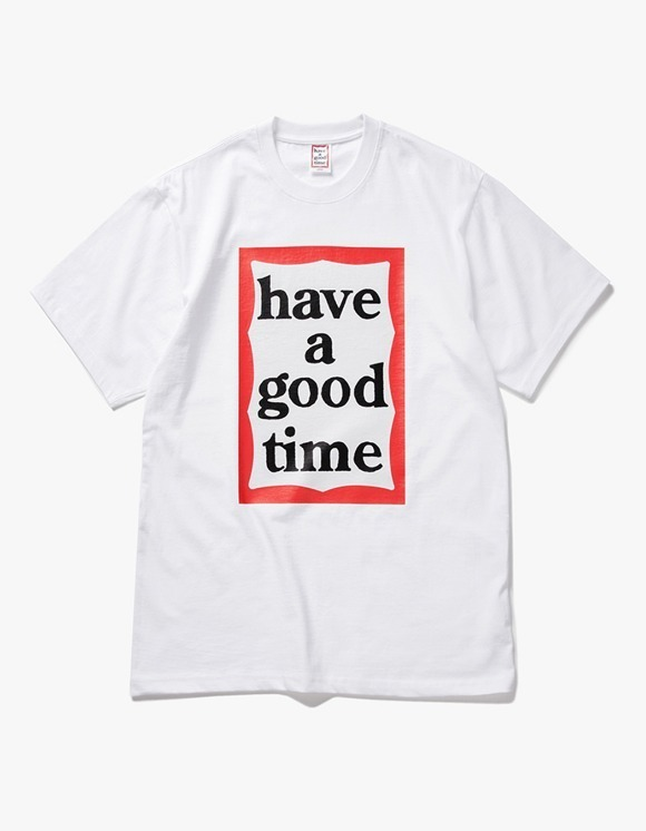 have a good time Big Frame S/S Tee - White | HEIGHTS. | 하이츠 온라인 스토어