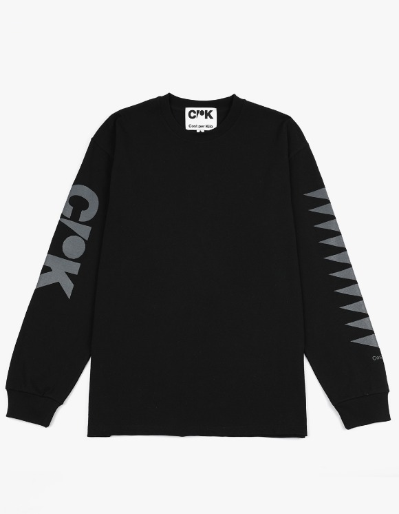 Cost Per Kilo CPK Block L/S Tee - Black | HEIGHTS. | 하이츠 온라인 스토어