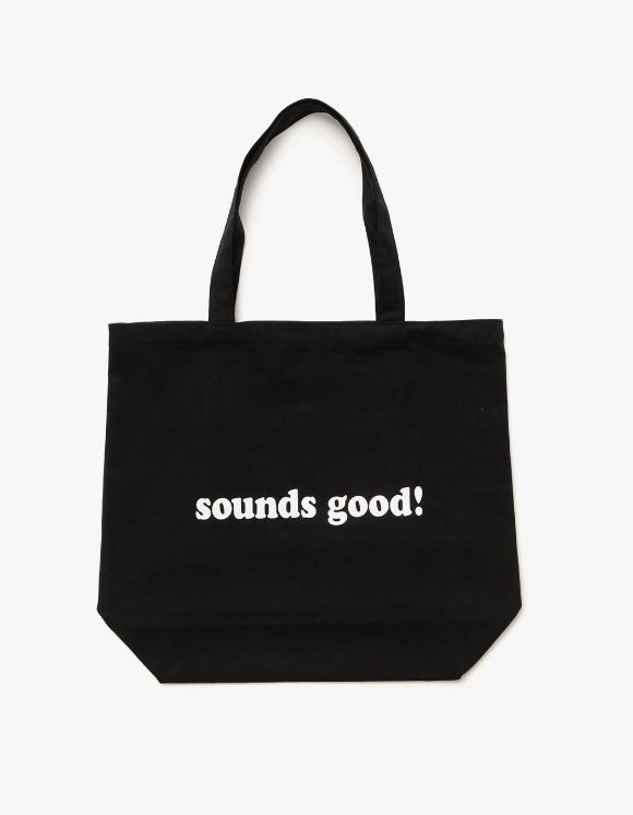 sounds good! Sounds good Logo Bag - Black | HEIGHTS. | 하이츠 온라인 스토어