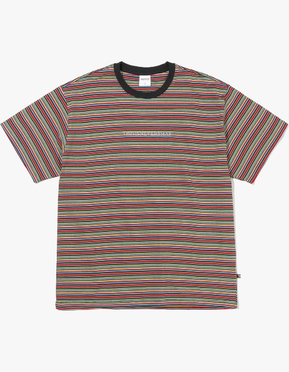 thisisneverthat Cherokee Striped Tee - Black | HEIGHTS. | 하이츠 온라인 스토어