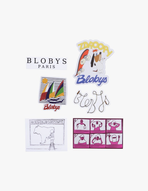 Blobys Paris Blobys Sticker Pack | HEIGHTS. | 하이츠 온라인 스토어