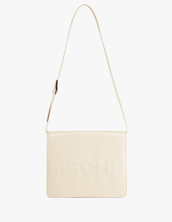 MISCHIEF Fold Over Shoulder Bag - Ivory | HEIGHTS. | 하이츠 온라인 스토어