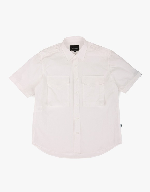 yeseyesee Safary Shirt - White | HEIGHTS. | 하이츠 온라인 스토어
