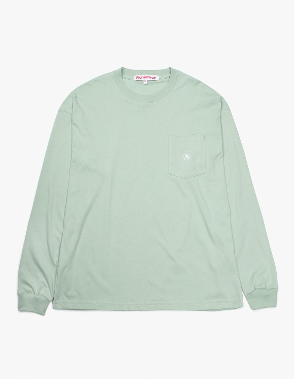 Richardson Pocket Glyph Longsleeve - Light Green | HEIGHTS. | 하이츠 온라인 스토어