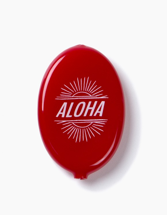 IZOLA NYC Aloha Coin Wallet - Red | HEIGHTS. | 하이츠 온라인 스토어