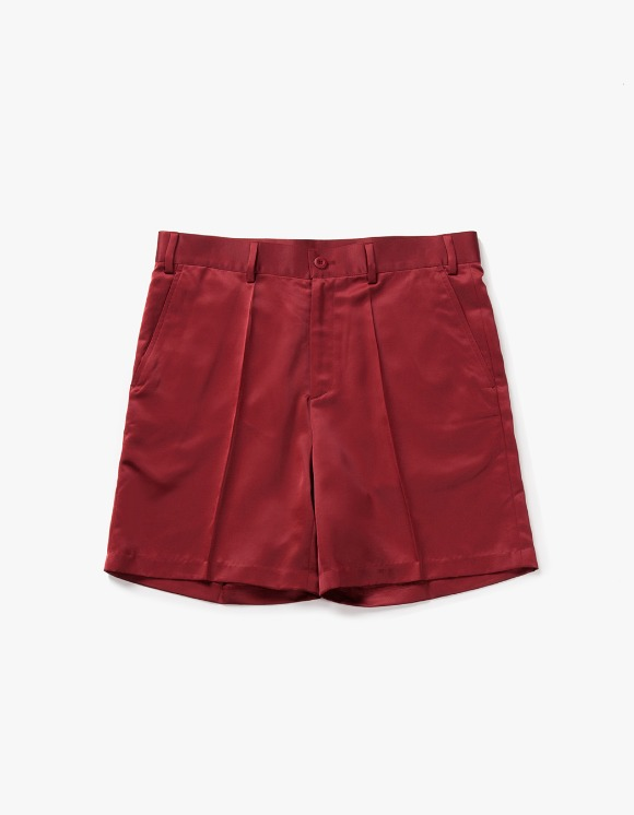 have a good time Satin Shorts - Burgundy | HEIGHTS. | 하이츠 온라인 스토어