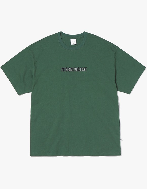 thisisneverthat Deep Shade Tee - Forest | HEIGHTS. | 하이츠 온라인 스토어