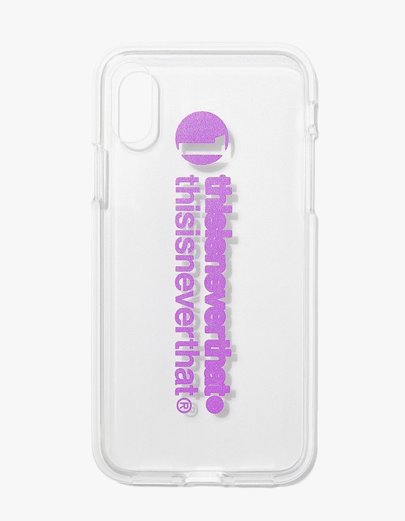 thisisneverthat thisisneverthat iPhone Case X/Xs - Purple | HEIGHTS. | 하이츠 온라인 스토어
