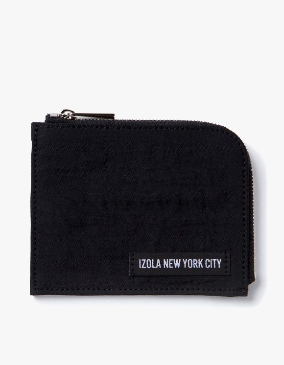 IZOLA NYC Nylon Wallet - Black | HEIGHTS. | 하이츠 온라인 스토어