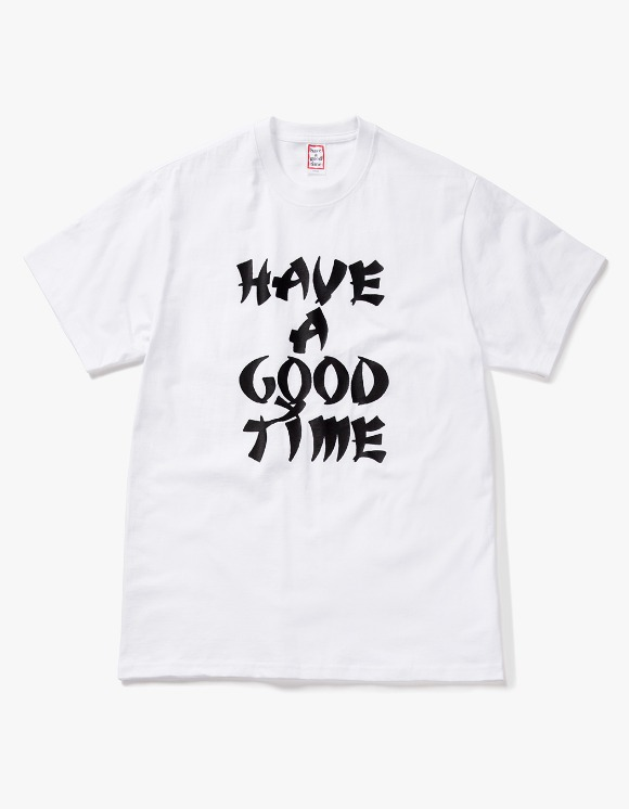 have a good time Karate Logo S/S Tee - White | HEIGHTS. | 하이츠 온라인 스토어