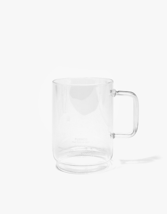 PUEBCO INC. Borosilicate Glass Mug Shallow Staking | HEIGHTS. | 하이츠 온라인 스토어