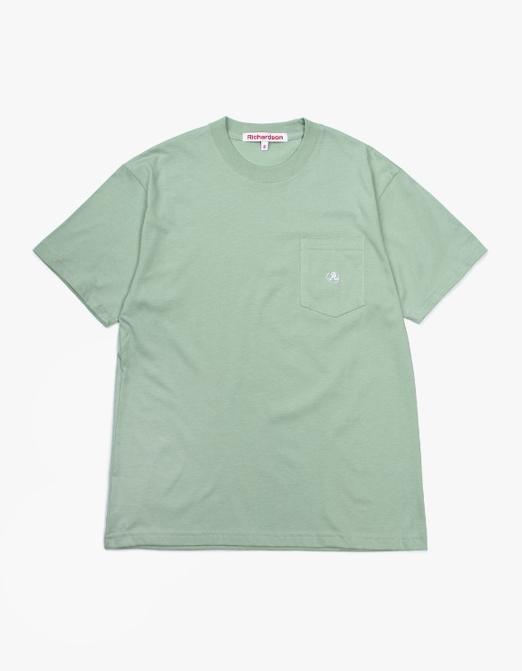 Richardson Pocket Glyph T-Shirt - Green | HEIGHTS. | 하이츠 온라인 스토어
