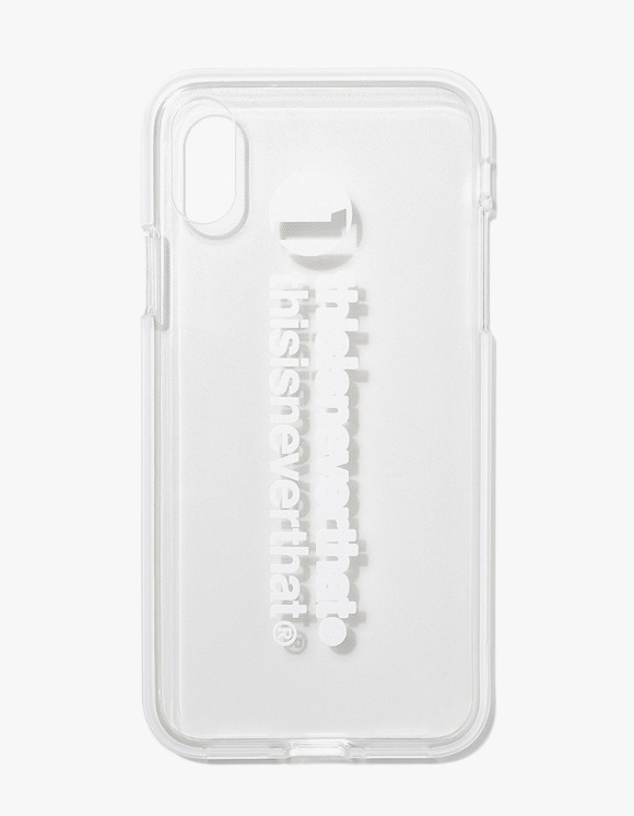 thisisneverthat thisisneverthat iPhone Case X/Xs - White | HEIGHTS. | 하이츠 온라인 스토어