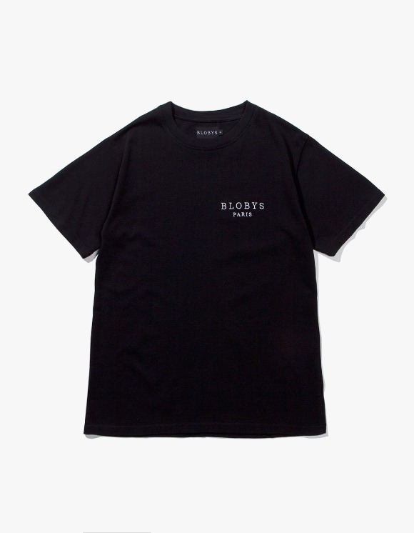 Blobys Paris Blobys Paris Tee - Black | HEIGHTS. | 하이츠 온라인 스토어