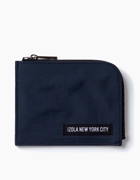 IZOLA NYC Nylon Wallet - Navy | HEIGHTS. | 하이츠 온라인 스토어