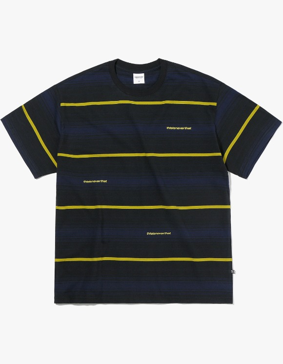 thisisneverthat 3SP Striped Tee - Black | HEIGHTS. | 하이츠 온라인 스토어
