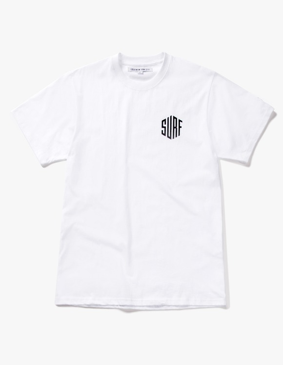 IZOLA NYC Surf S/S Tee - White | HEIGHTS. | 하이츠 온라인 스토어