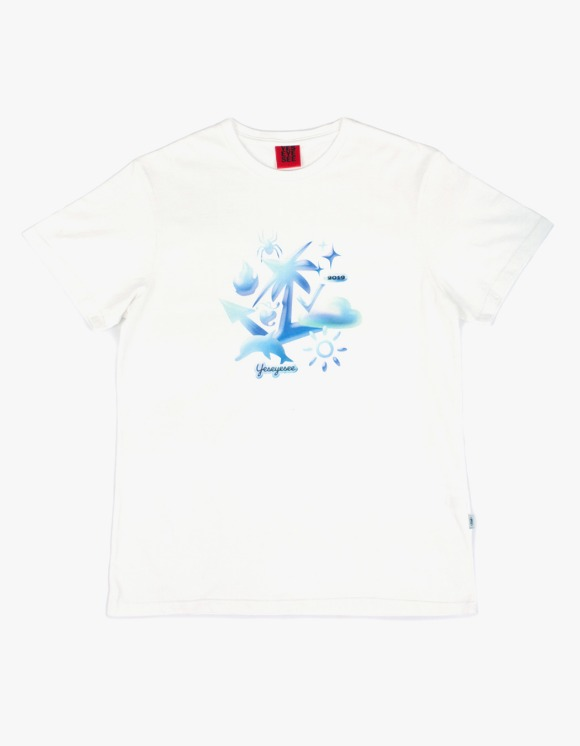 yeseyesee 3D Emoji Tee - White | HEIGHTS. | 하이츠 온라인 스토어