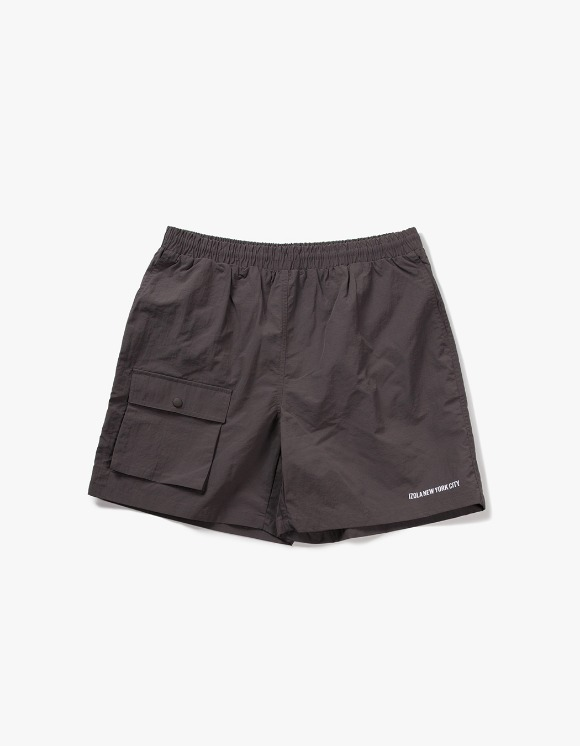 IZOLA NYC Pocket Swim Shorts - Grey | HEIGHTS. | 하이츠 온라인 스토어