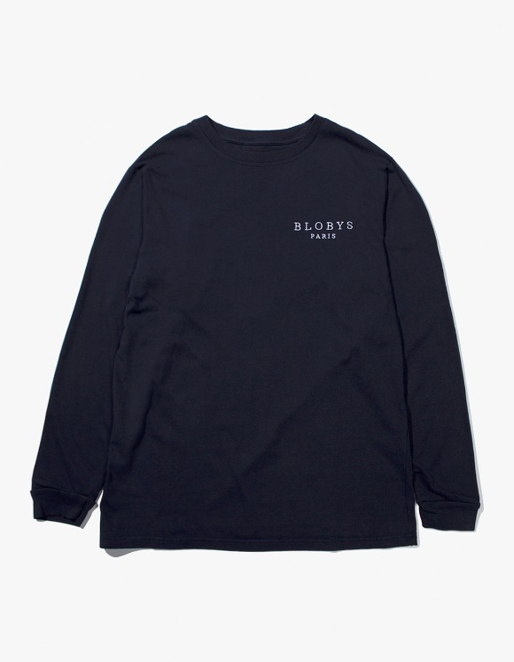 Blobys Paris Blobys Paris L/S Tee - Navy | HEIGHTS. | 하이츠 온라인 스토어