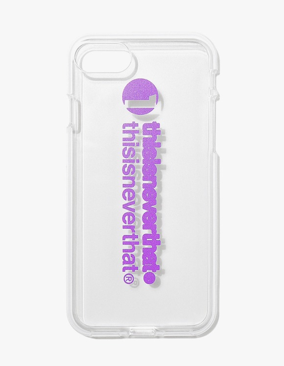 thisisneverthat thisisneverthat iPhone Case 7/8 - Purple | HEIGHTS. | 하이츠 온라인 스토어