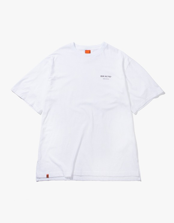 IDEAEND Baggy Tuck Half T-shirts - White | HEIGHTS. | 하이츠 온라인 스토어