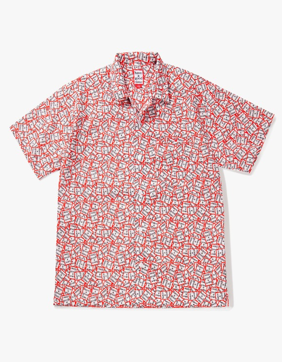 have a good time All Frame Pattern Aloha S/S shirt | HEIGHTS. | 하이츠 온라인 스토어
