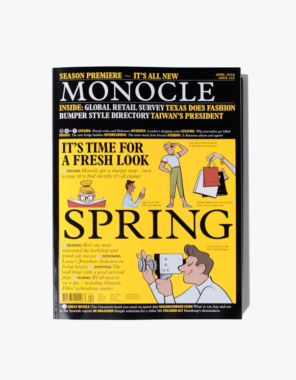 Monocle Monocle Magazine - Issue 122 | HEIGHTS. | 하이츠 온라인 스토어