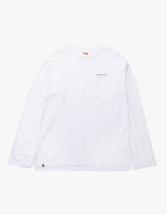 IDEAEND Baggy Tuck L/S T-shirts - White | HEIGHTS. | 하이츠 온라인 스토어