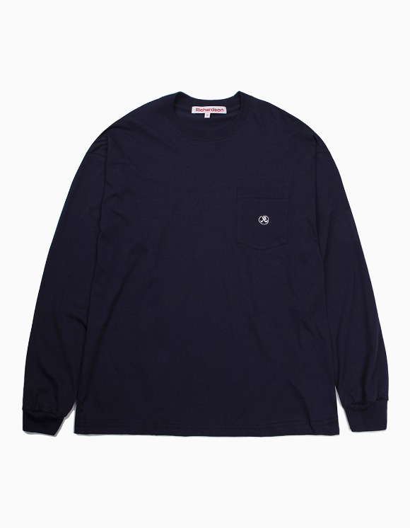 Richardson Pocket Glyph Longsleeve - Midnight Blue | HEIGHTS. | 하이츠 온라인 스토어