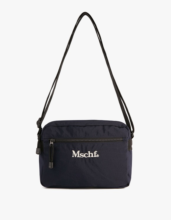 MISCHIEF Nylon Mini Cross Bag - Navy | HEIGHTS. | 하이츠 온라인 스토어