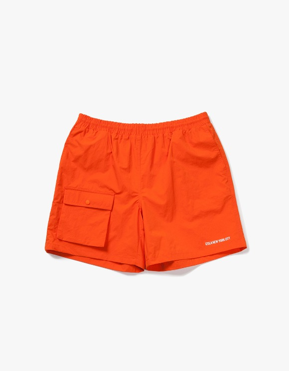 IZOLA NYC Pocket Swim Shorts - Orange | HEIGHTS. | 하이츠 온라인 스토어