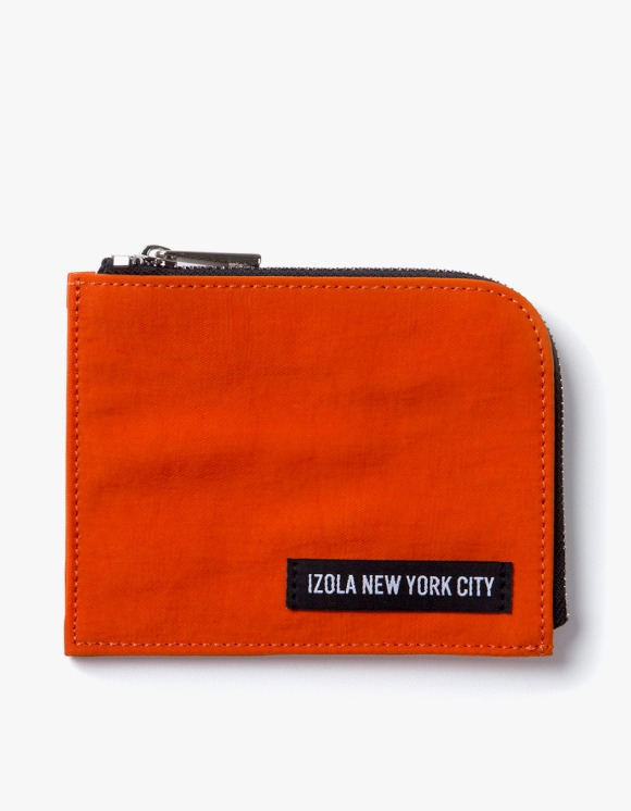 IZOLA NYC Nylon Wallet - Orange | HEIGHTS. | 하이츠 온라인 스토어
