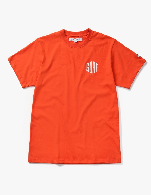 IZOLA NYC Surf S/S Tee - Orange | HEIGHTS. | 하이츠 온라인 스토어