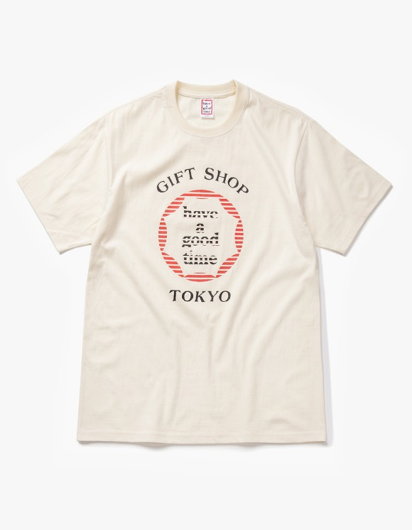 have a good time Cruise S/S Tee - Cream | HEIGHTS. | 하이츠 온라인 스토어