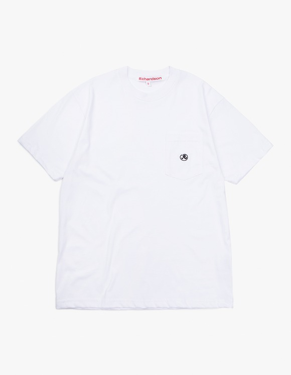 Richardson Pocket Glyph T-Shirt - White | HEIGHTS. | 하이츠 온라인 스토어