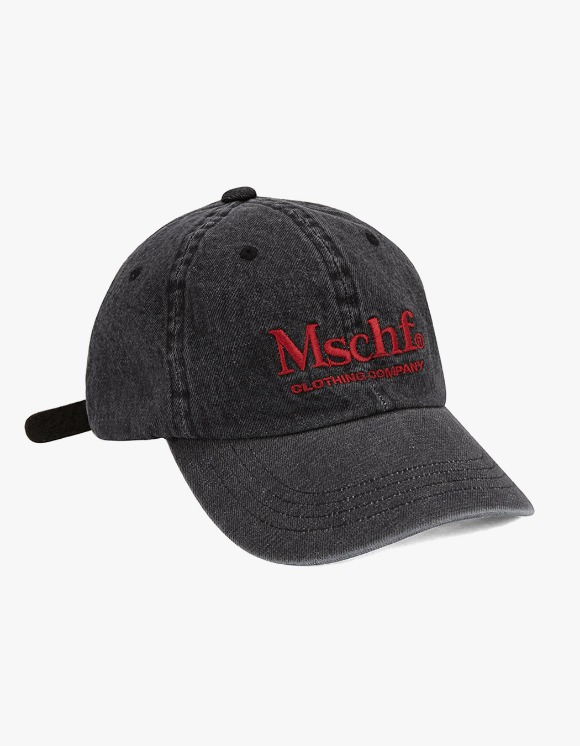 MISCHIEF Denim Ball Cap - Black | HEIGHTS. | 하이츠 온라인 스토어