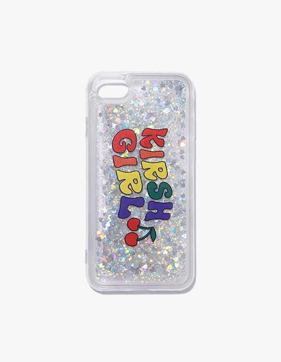 KIRSH Glitter Rainbow Phone Case IH - White | HEIGHTS. | 하이츠 온라인 스토어