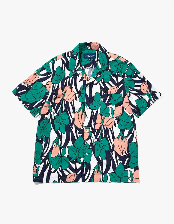 Only NY Tulip Aloha Shirt - Teal | HEIGHTS. | 하이츠 온라인 스토어