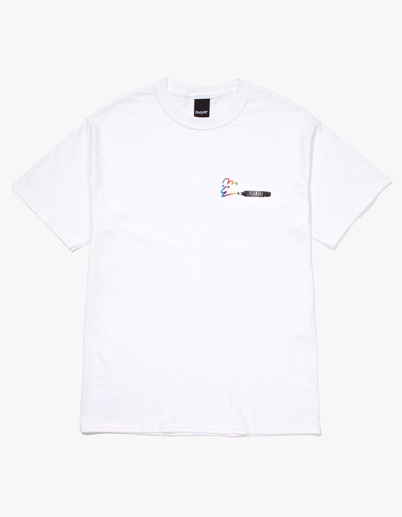 Only NY Marker S/S Tee - White | HEIGHTS. | 하이츠 온라인 스토어