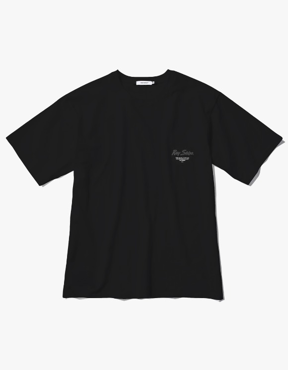 Ray Shiso Jurupa Jadeite S/S Tee - Black | HEIGHTS. | 하이츠 온라인 스토어