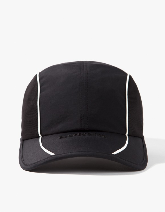 LORES Piping Running Cap - Black | HEIGHTS. | 하이츠 온라인 스토어