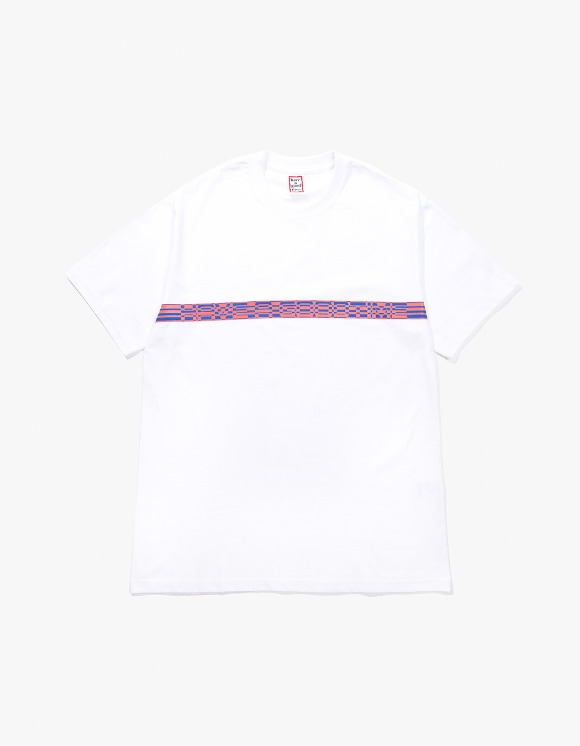 have a good time Border S/S Tee - White | HEIGHTS. | 하이츠 온라인 스토어
