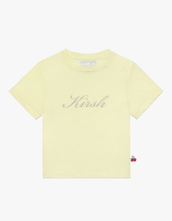 KIRSH Seethrough Half Neck Tee IH - Lemon | HEIGHTS. | 하이츠 온라인 스토어