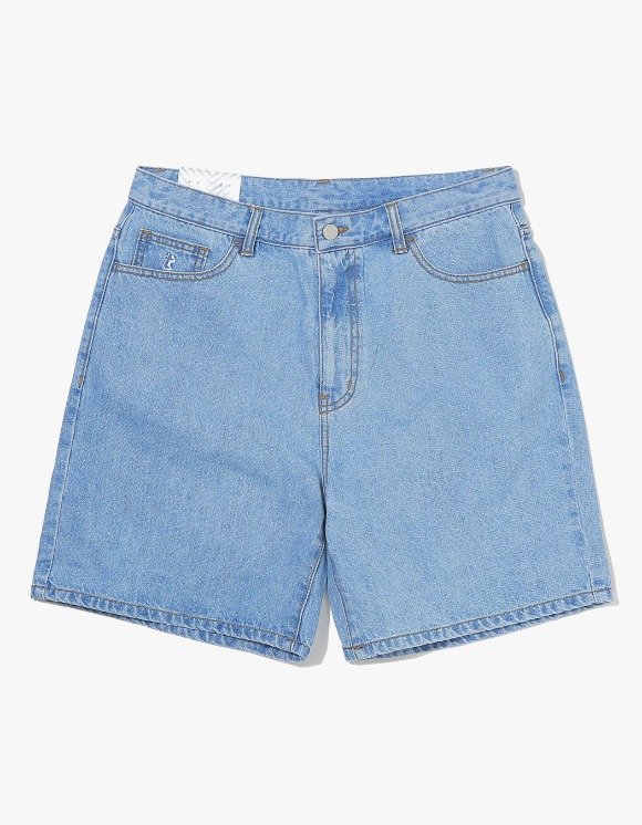 thisisneverthat Denim Skate Short - Light Blue | HEIGHTS. | 하이츠 온라인 스토어